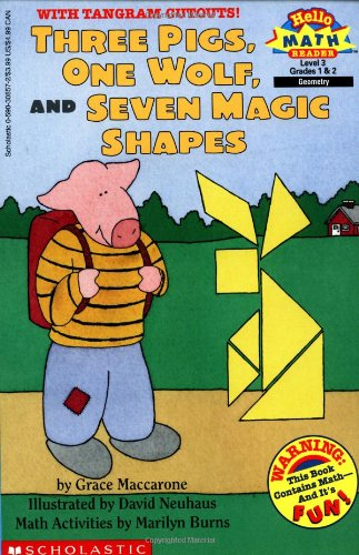 Three Pigs, One Wolf, Seven Magic Shapes (level 3) (Scholastic Reader, (Magic Shapes)