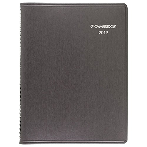 Cambridge 2019 Weekly & Monthly Planner / Appointment Book, 8