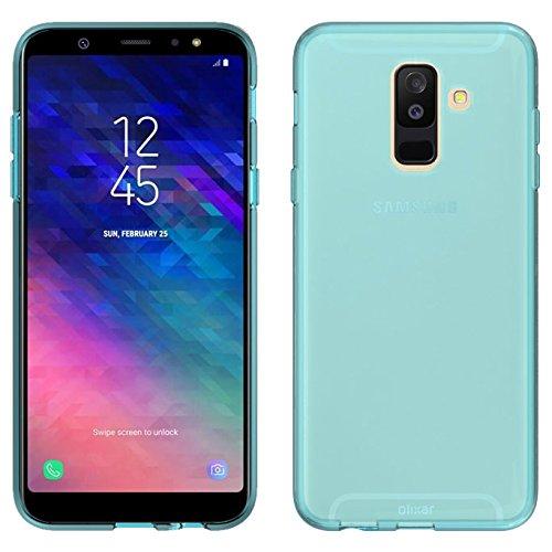 purchase cheap d8fc9 cfddc Amazon.com: Olixar Samsung Galaxy A6 Plus 2018 Gel Case - Silicone ...
