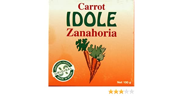 Amazon.com : Idole Exfoliating Soap - Carrot 3.53 oz. (Pack of 2) : Beauty