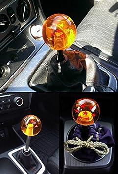 OUYAWEI Creativo Dragon Ball Universal Manual Gear Shift Knob Stick Acr/ílico Shifter Lever Head 7 Stars