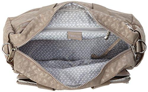 Grey Defea Sac Gris à Mm bandoulière Warm Kipling Femme 4zq7w7R
