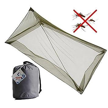 Tofree Camping Mosquitera para 1 Persona, Outdoor Camping Alimentación - Mosquitera Net Camping Cama Net con 4 unterir dischen Clavos: Amazon.es: Deportes y ...