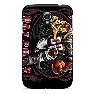 GAwilliam Design High Quality Atlanta Falcons Cover Case With Excellent Style For Galaxy S4