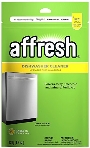 Affresh W10282479 Dishwasher Cleaner, 6 Tablets - Pack of 4