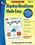 Algebra Readiness Made Easy, Mary Cavanagh and Carol Findell, 0439839424