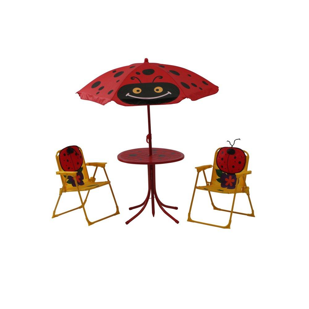 Siena Garden Kindersitzgruppe Marie, cm, Gestell: Stahl, in rot ...