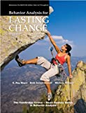 Behavior Analysis for Lasting Change, G. Roy Mayer and Beth Sulzer-Azaroff, 1597380504