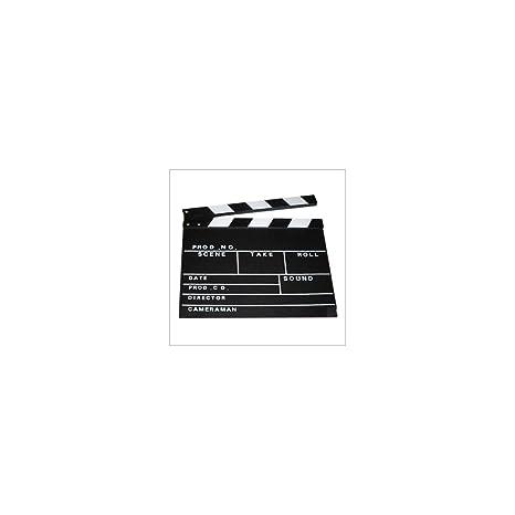 ciak legno  OGGETTISTICA varie Oob-Ciak Cinematografico in Legno 27x30 cm ...