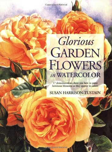 Glorious Garden Flowers in Watercolor