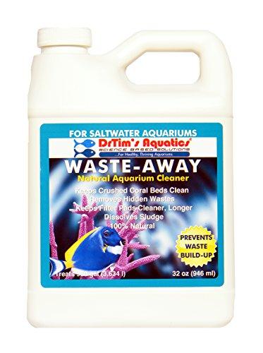 DrTim's Aquatics 274 Waste-Away Natural Aquarium Cleaner for Saltwater Aquarium, 32 oz by DrTim's Aquatics