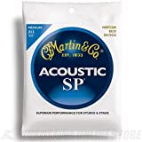 Martin SP 80/20 Acoustic Guitar Strings - Bronze Wound  (Medium, .013 - .056)