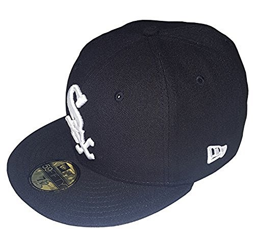 New Era 59FIFTY Chicago White Sox MLB 2017 Authentic Collection On Field Game Cap Size 7 3/8 (Game 59fifty Fitted Cap)