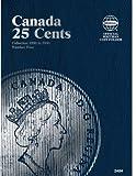 25 Cent Canadian Folder Vol. 4 (Official Whitman Coin Folder)