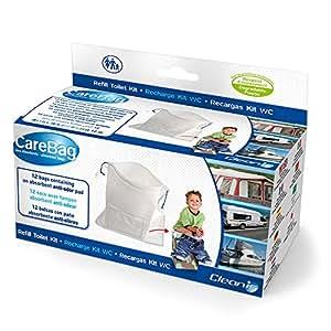 Care Bag 9832535 - Bolsas absorbentes oxo biodegradables para WC plegable