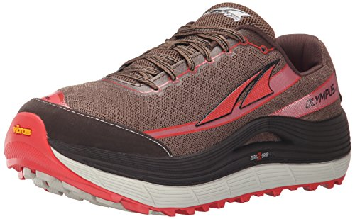 Altra Women's Olympus 2 Trail Running Shoe, Shiitake/Sugar Coral, 8 M US by Altra