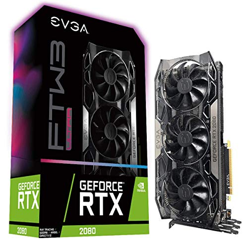 - EVGA 08G-P4-2287-KR GeForce RTX 2080 Ultra Gaming 8GB GDDR6 iCX2 and RGB LED Graphics Card, FTW3