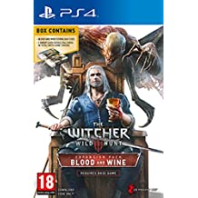 The Witcher 3: WIld Hunt PS4 Expansion Pack Blood & Wine (Download Code & 2 Gwent Card Decks) UK Import