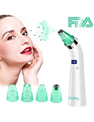 Blackhead Remover Vacuum Pore Cleaner, ONIPU Rechargeable...