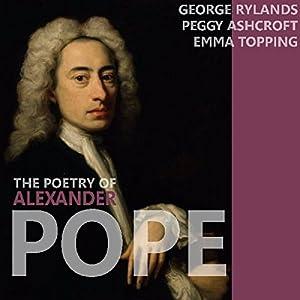 The Poetry of Alexander Pope Audiobook