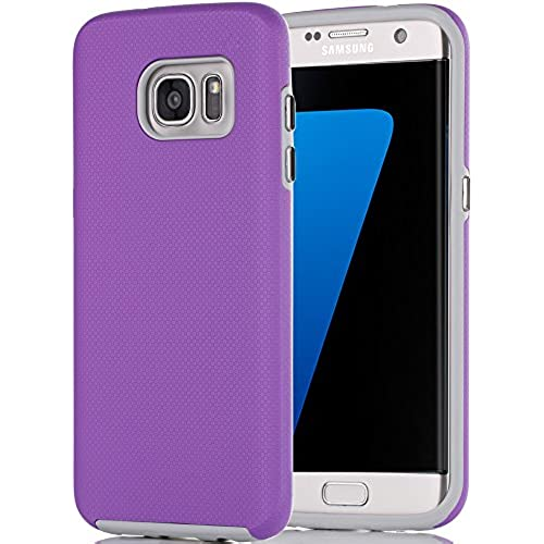 Galaxy S7 Edge Case, S7 Edge Case, BENTOBEN Skidproof Case Dual Layer Hybrid Hard PC Shell Rugged TPU Bumper Shockproof Cover Cases for Samsung Sales