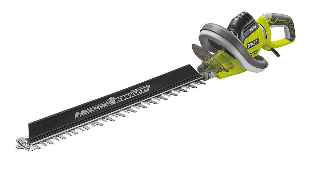 Ryobi 5133002125 Cortasetos eléctrico 750 W, Verde product image