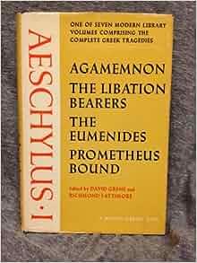 Aeschylus Critical Essays
