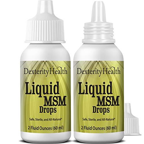 Dexterity Health Liquid MSM Eye Drops 2-Pack of 2