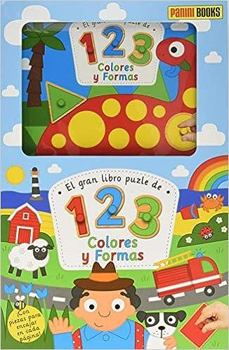 Mi Primer Puzzle. Números, Colores, Formas: Amazon.es: Bookworks LLC., Panini España, S.A., Surry, Emma: Libros