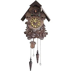 Vmarketingsite Wall Cuckoo Clocks Black Forest Wooden Cuckoo Clock. Black Forest Hand-Carved Cuckoo