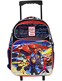 New Disney Big Hero 6 Large 16 Inches Rolling Backpack
