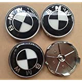 4pcs 68mm Car Styling Accessories Emblem Badge Sticker Wheel Hub Caps Centre Cover for BMW X3 X5 X6 E46 E39 E60 E90 M5 E53 M3 E91 E92 E93