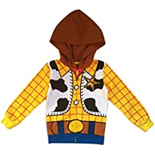 Mighty Fine Disney Toy Story Toddler & Little Boys Woody Character Hoodie