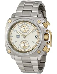 Andrew Marc Womens AM40020 Classic Chronograph Crown Cover Watch