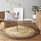 Home Dynamix Royalty Clover Modern Area Rug, Brown