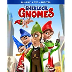 Animated Adventure SHERLOCK GNOMES arrives on Digital June 5 and on Blu-ray, DVD June 12 from Paramount