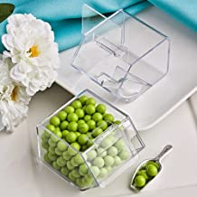 100 Perfectly Plain Collection Candy Bin & Scoop Favors