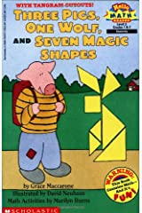 Three Pigs, One Wolf, Seven Magic Shapes (level 3) (Scholastic Reader, Math) Paperback