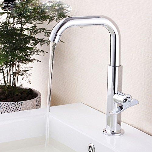 A von YIRUI basin Taps Single-hole single cold basin faucet washbasin Basin faucet,B