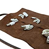 Hide & Drink, Leather Cord Wrap / Cord Organizer