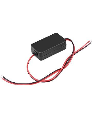 Qiilu 12V DC Rectificador del filtro del condensador de la retransmisión del poder de Cámara de