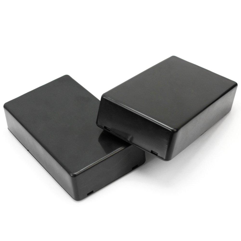 5 X Pr/áctico Caja Instrumento Pl/ástico Proyecto Electr/ónico DIY 10x6x2.5cm