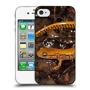 Super Galaxy Coque de Protection TPU Silicone Case pour // V00000214 Salamandra // Apple iPhone 4 4S 4G