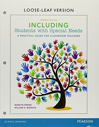 Including Students with Special Needs with Enhanced Pearson eText, Loose-Leaf Version with Video Analysis Tool -- Access Card Package (7th Edition)