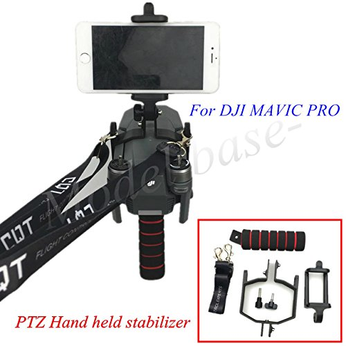 Handheld Gimbal Stabilizers Support Tripod Mounting Component for DJI MAVIC PRO Drone 3D Printed
