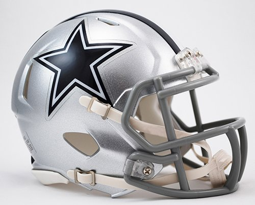 Dallas Cowboys Riddell Speed Mini Football Helmet - New in Riddell Box]()