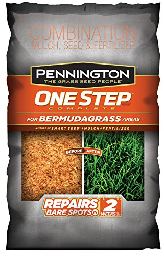 Pennington 1 Step Complete Bermuda Mulch, 8.3-Pound by CENTRAL GARDEN AND PET