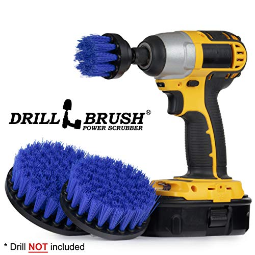 Kayak - Canoe - Yacht - Raft - Drill Brush - Boat Accessories - Fiberglass - Hull Cleaner - Cleaning Supplies - Pond Scum, Oil Residue, Weeds, Barnacles, Oxidation - ()