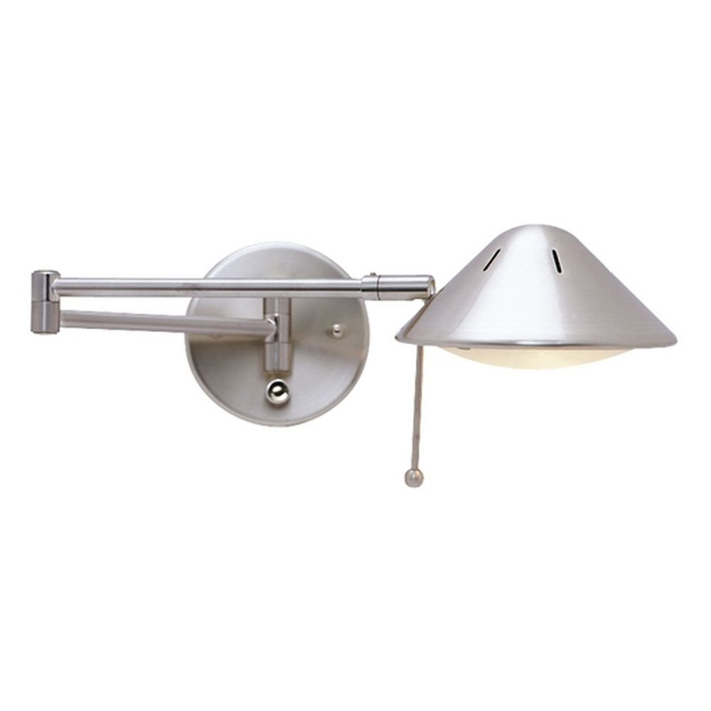 - LED Swing-Arm Plug-In Wall Lamp - - Amazon.com