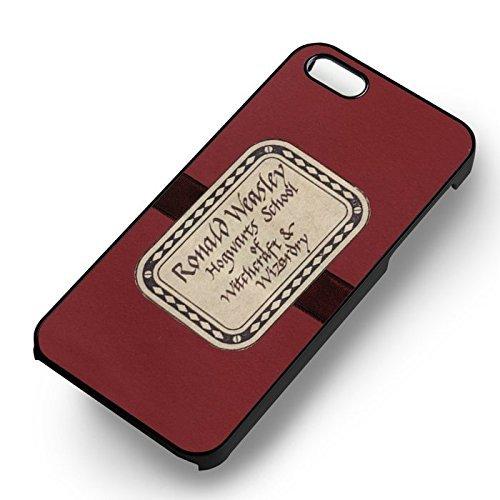 Ron Weasley's Howler pour Coque Iphone 6 et Coque Iphone 6s Case (Noir Boîtier en plastique dur) K6L5DV